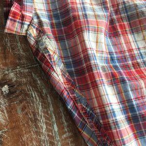 Madewell Tops - *SOLD* Madewell Central Button Shirt Bergen Plaid